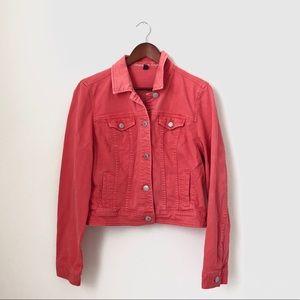 American Eagle•Pink Jean Jacket
